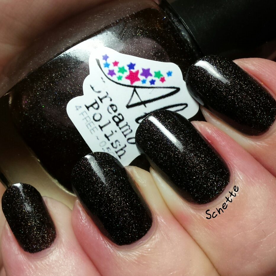 Les Vernis Aly's Dream Polish Companion, Super Black, Super Cherry