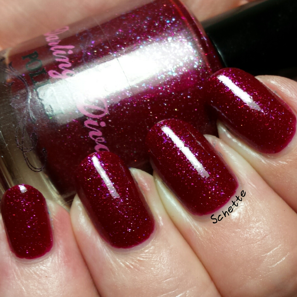 Les Vernis Darling Diva I hate pink, Macarize et Don't call me mommy in public