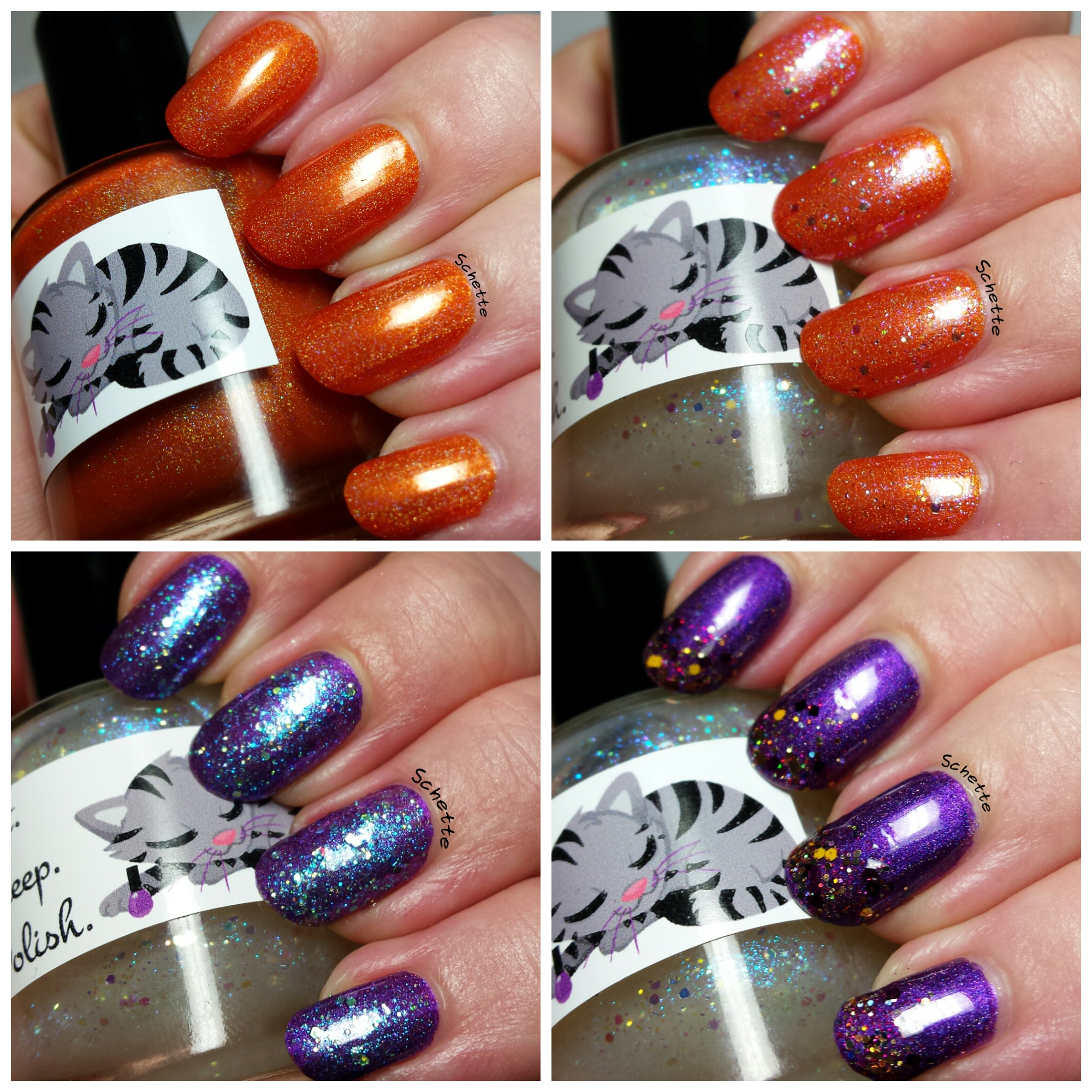 Les Vernis Eat Sleep Polish Rusty Spoon, Salad Finger et Imagination