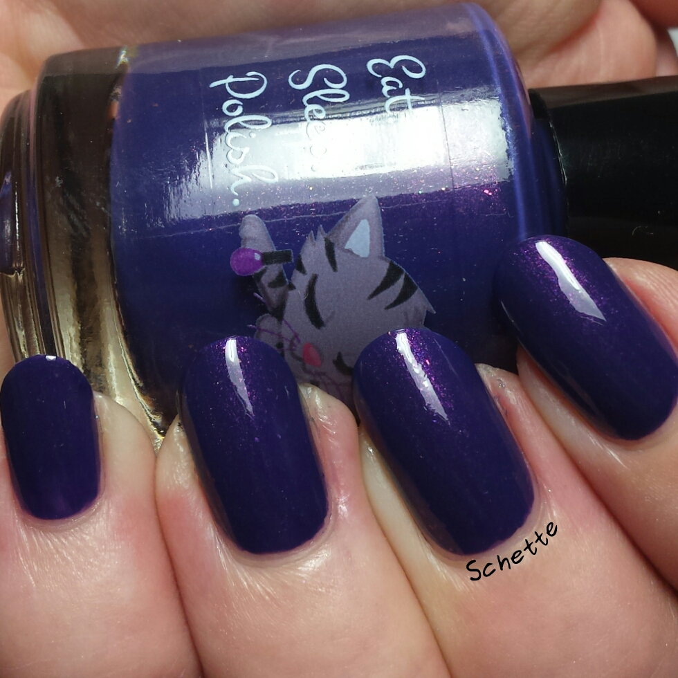 Les Vernis Eat Sleep Polish 2x4, Mouthfull of cavities et Toes across the floor