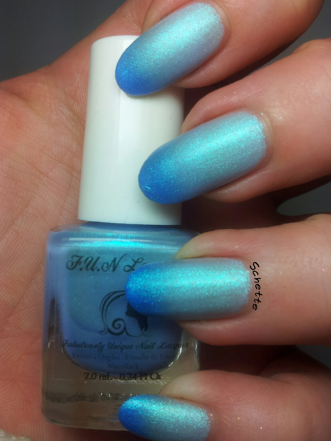 FUN Lacquer - Icy Snow