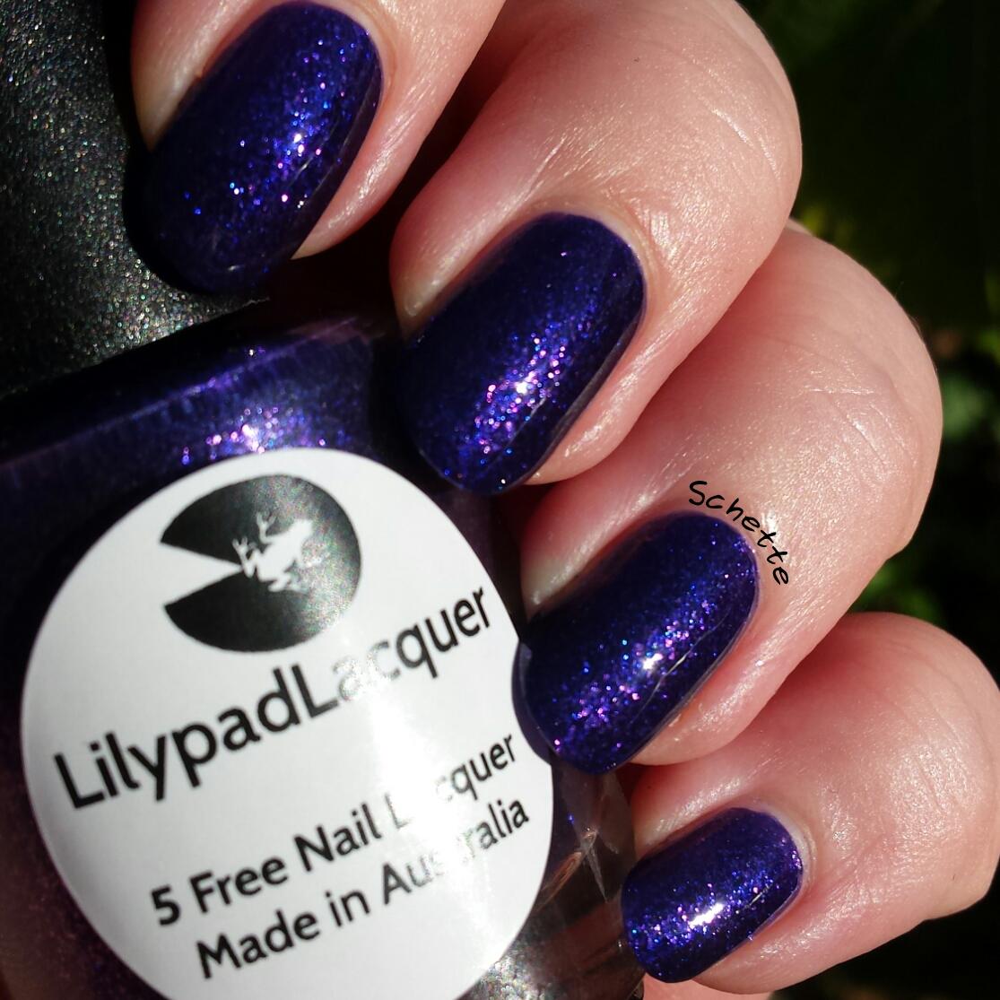 Lilypad Lacquer - Purple Diamonds
