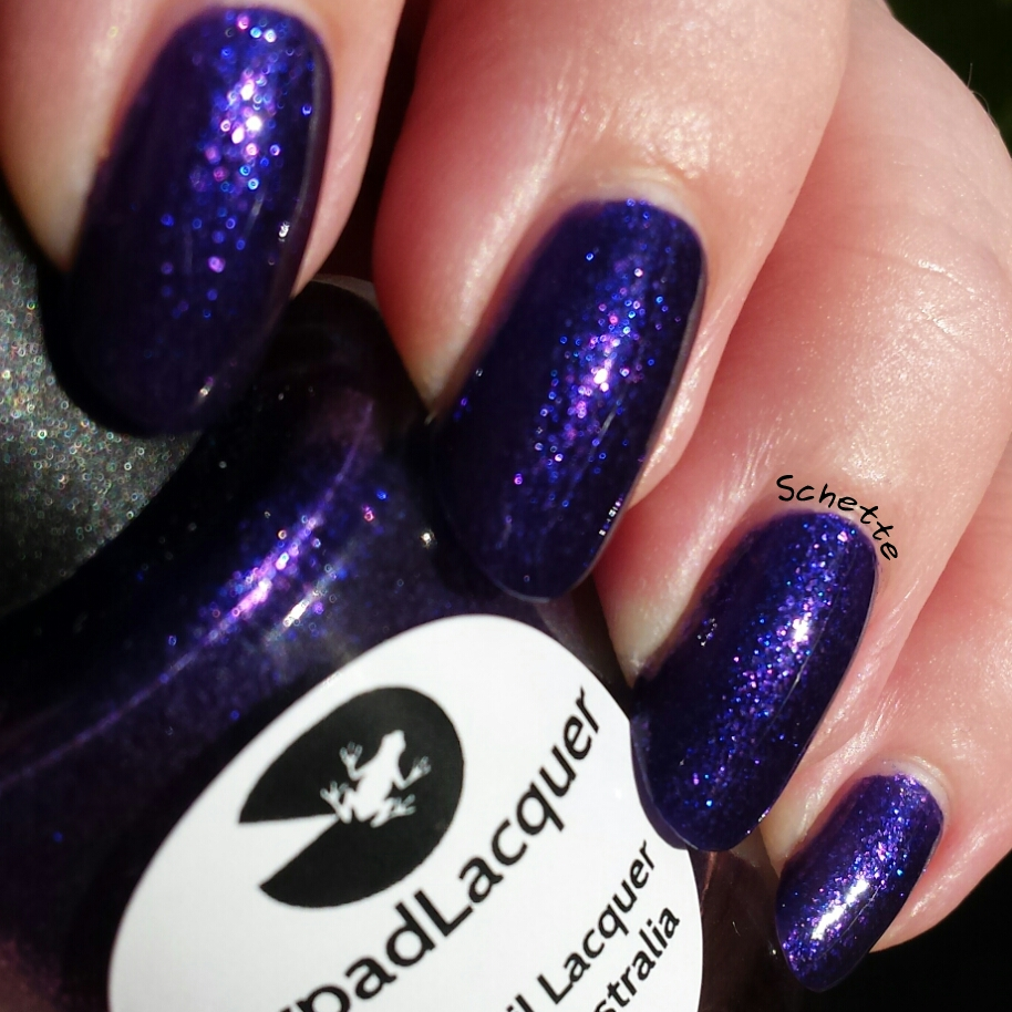Lilypad Lacquer - Purple Diamonds