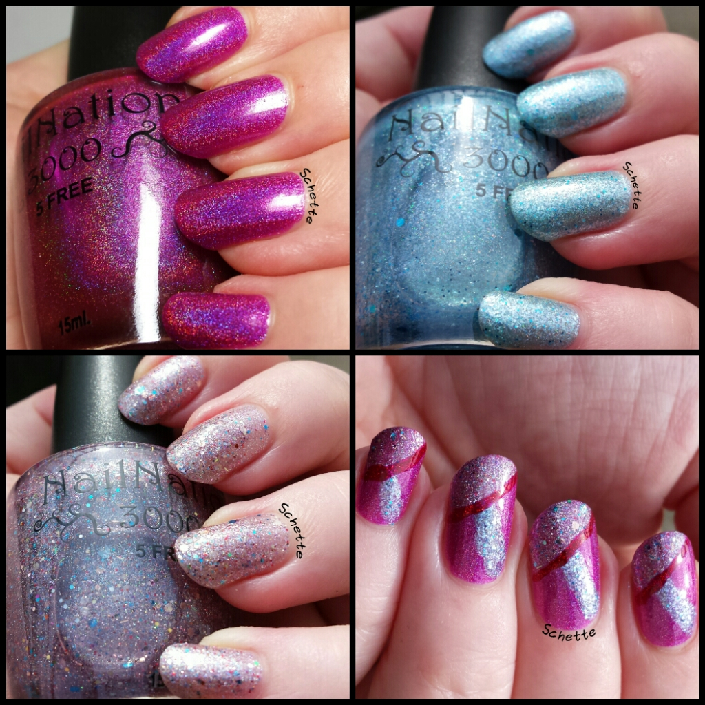 NailNation 3000 No Really... Let it go, the holo hippie, Dance like no ones around