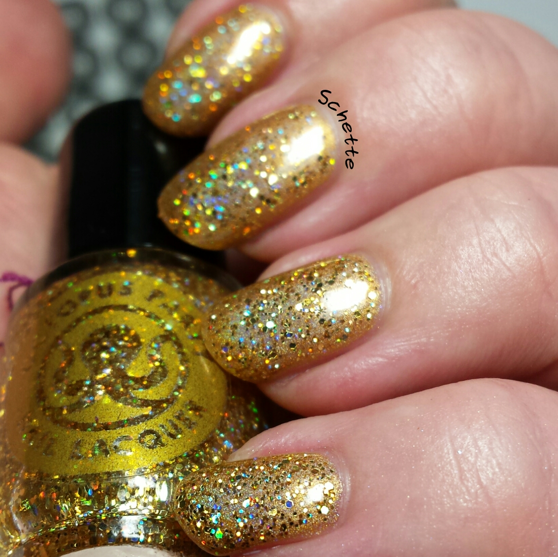 Les vernis Octopus Party Nail Lacquer The Gold Crush Duo
