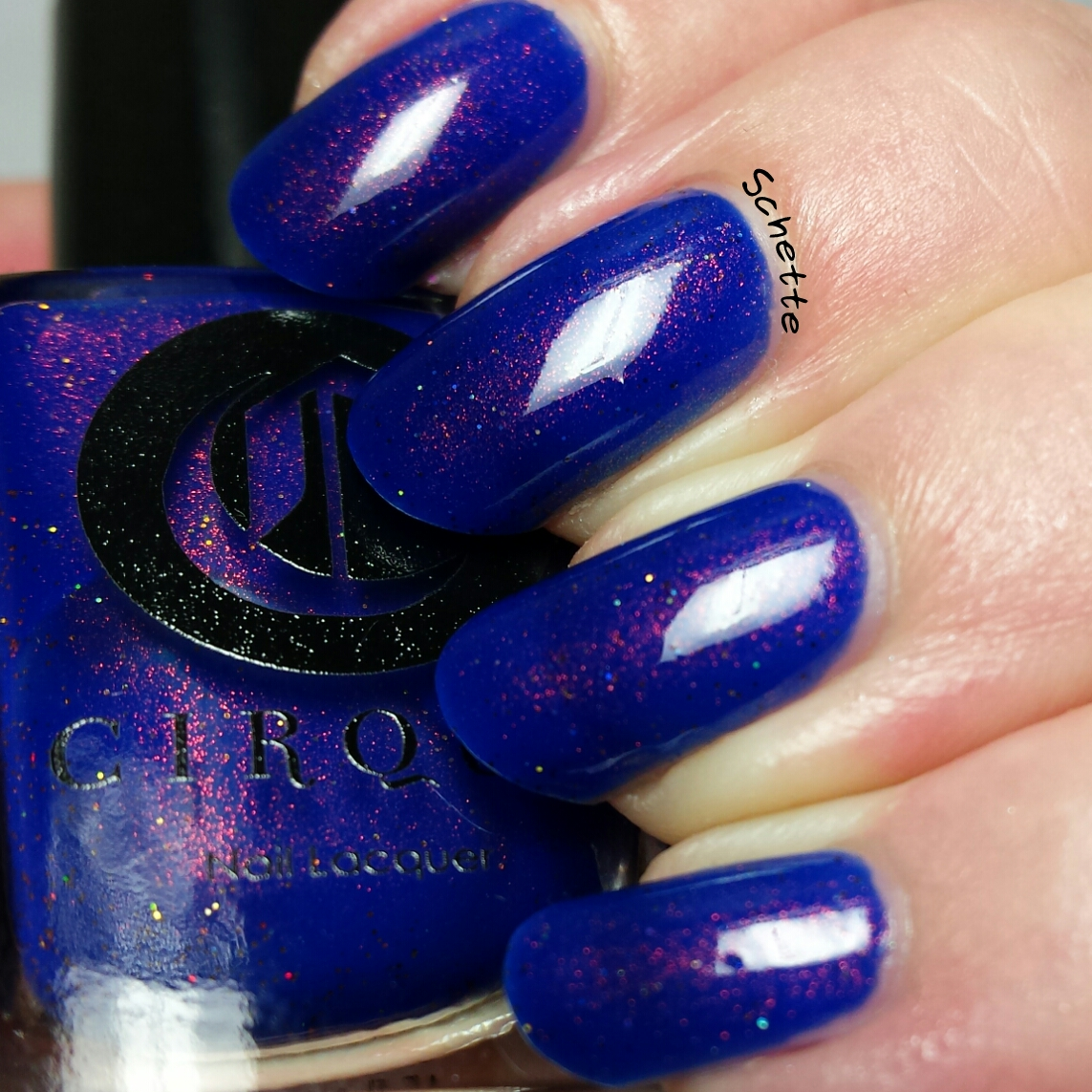 Les vernis Cirque Colors de la collection Kontiki : Midsummer Night, Thicker Than Water, Dear Dahlia