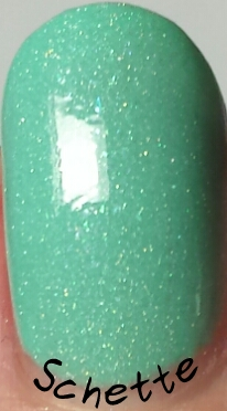 Le vernis Girly Bits EnJOYMint