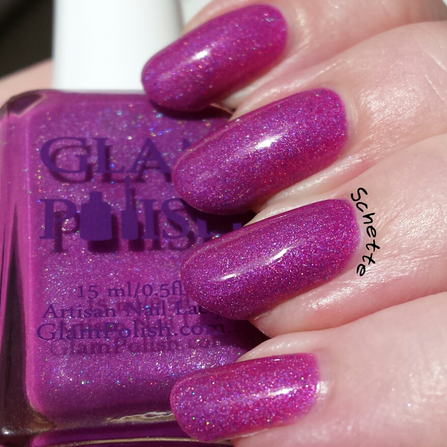 Les vernis Glam Polish Sandy, Beauty school dropout et You're the one that I want