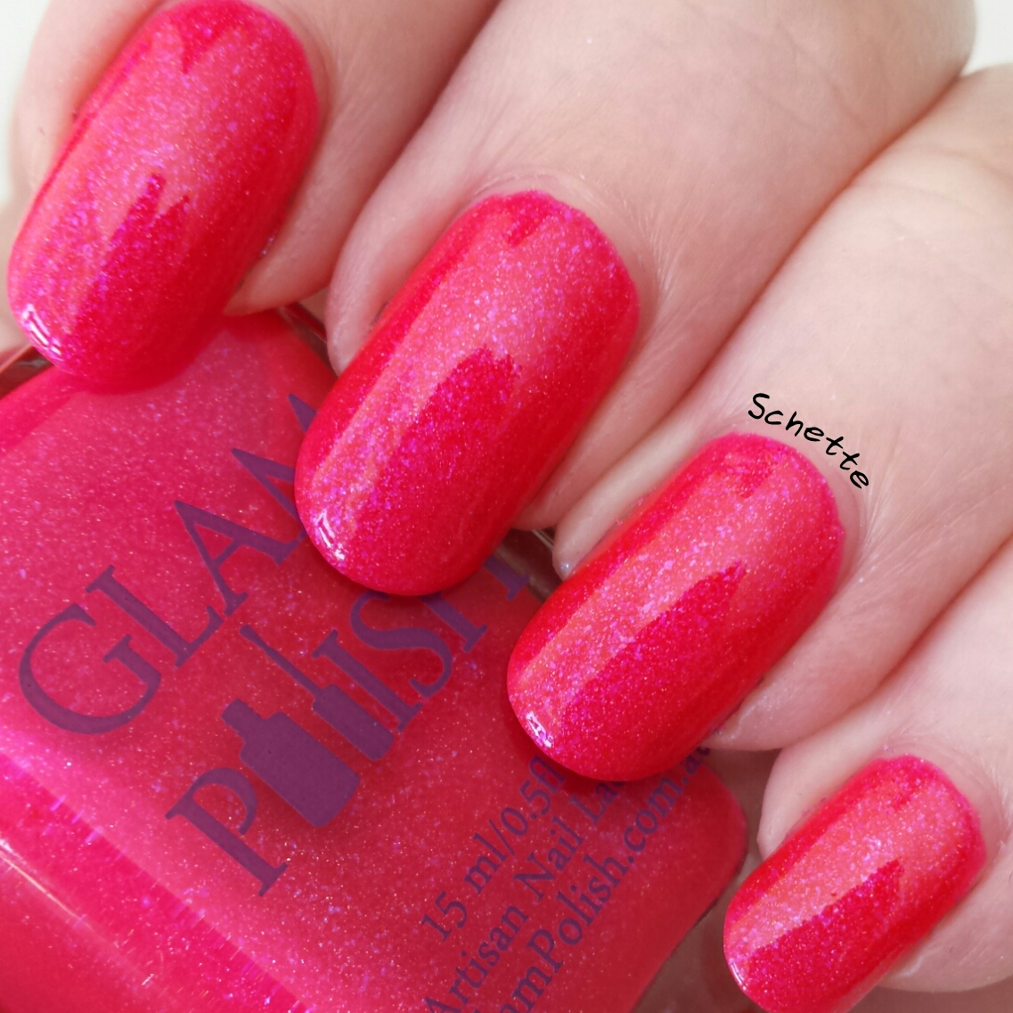 Les vernis Glam Polish We go together, Look at me, I'm Sandra Dee and Pink ladies