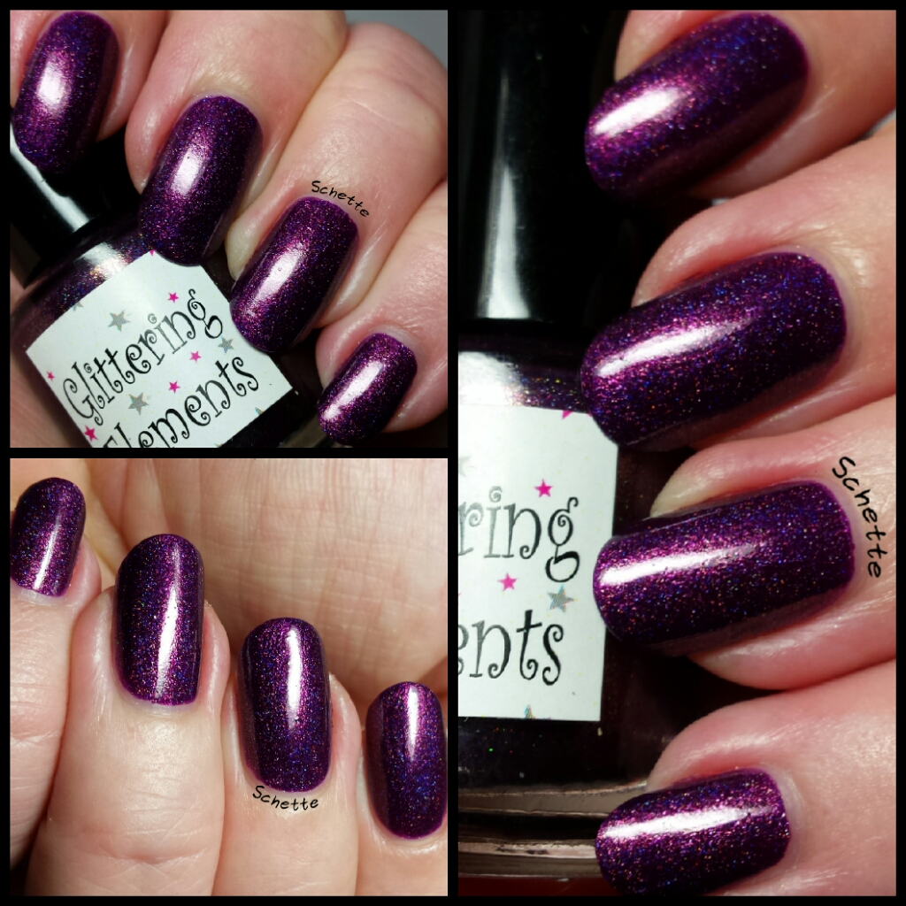 Le vernis Alluring Beauty de Glittering Elements