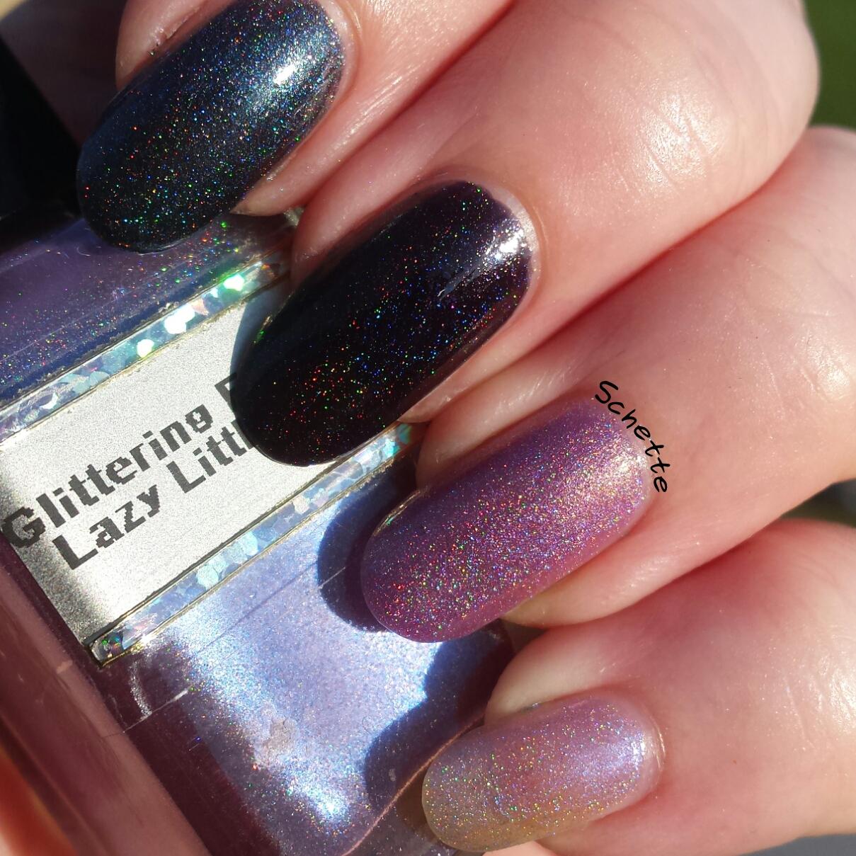 Les vernis Glittering Elements : Comparaisons nouvelle et ancienne version