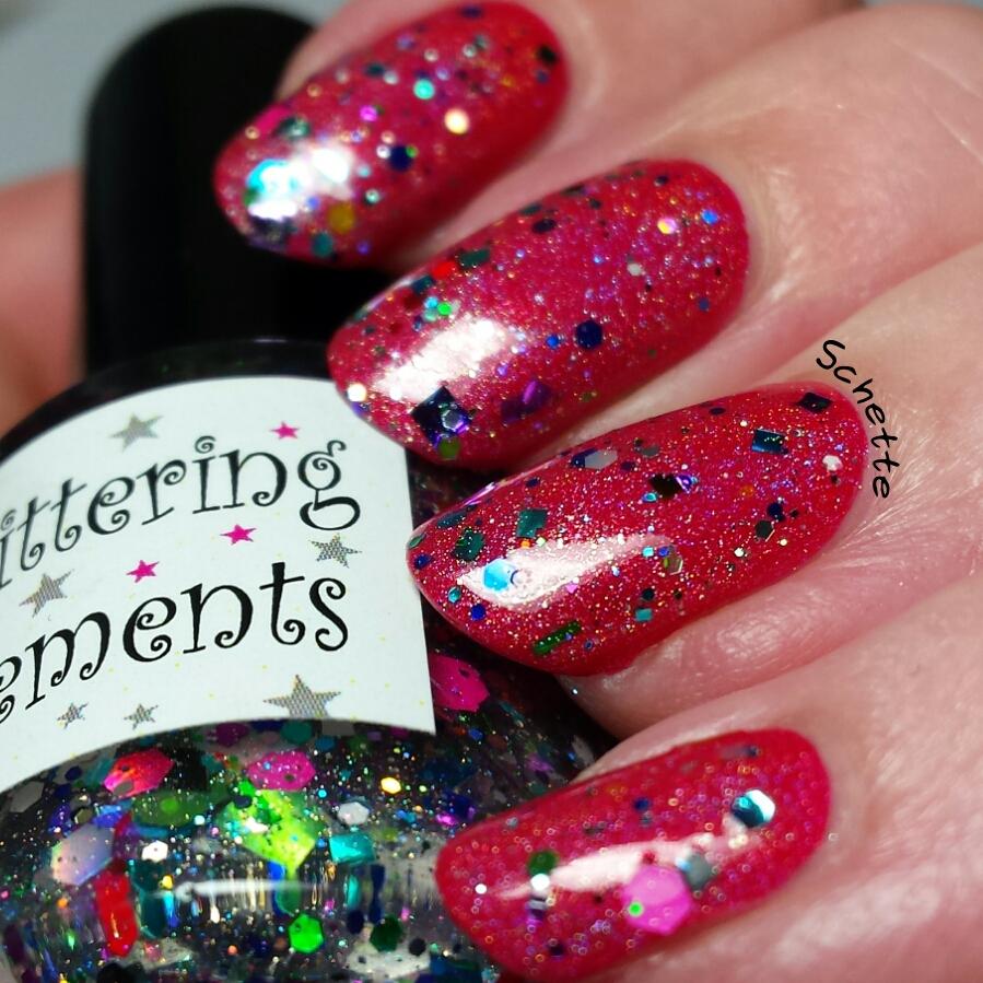 Le vernis Party Popper de Glittering Elements