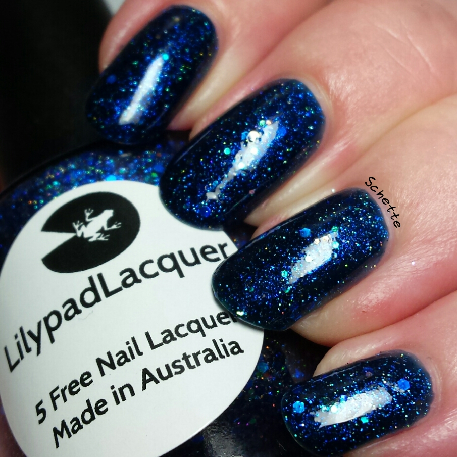 Les vernis Lilypad Lacquer Keep an open mind - I know I can succeed - I am alive