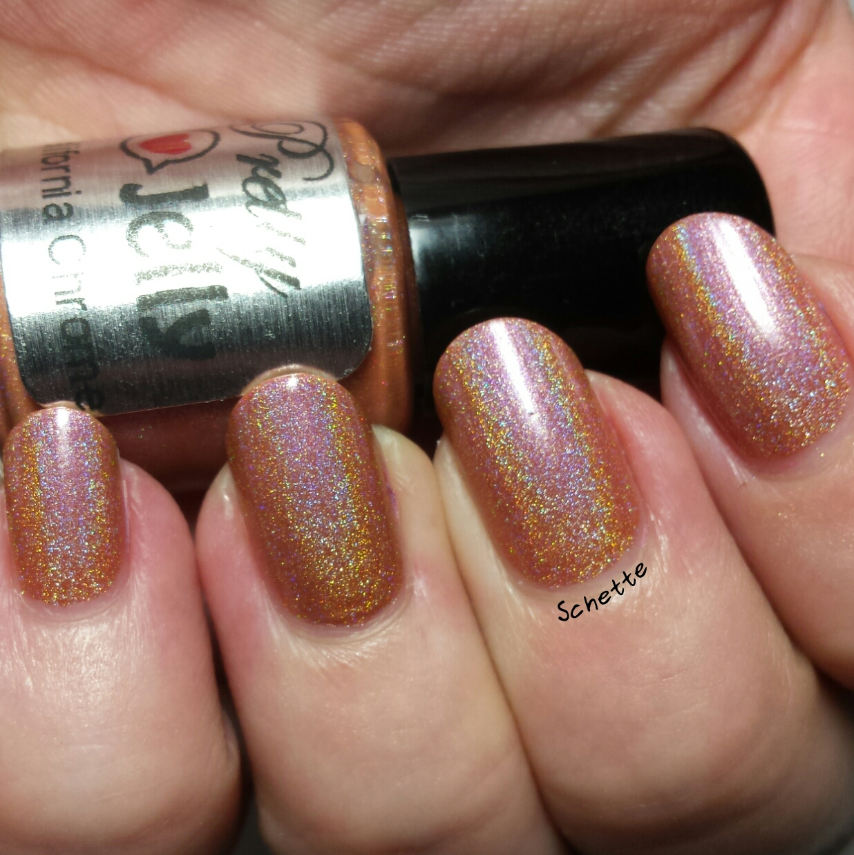 Les vernis Pretty Jelly Radiance, Dragon Breath, California Chrome et Thessalonike