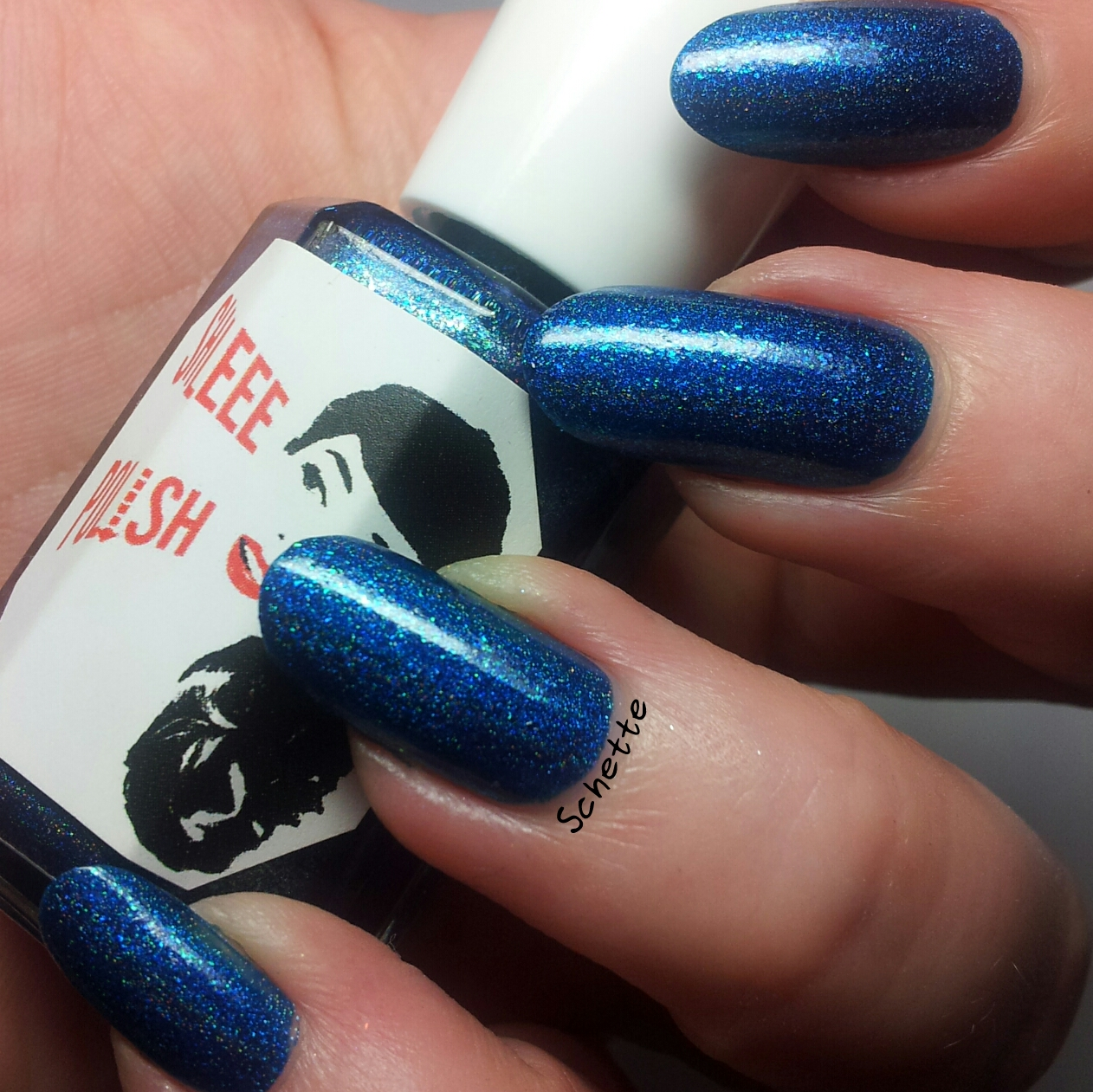 Les vernis Shleee Polish Free as my hair and Ice King