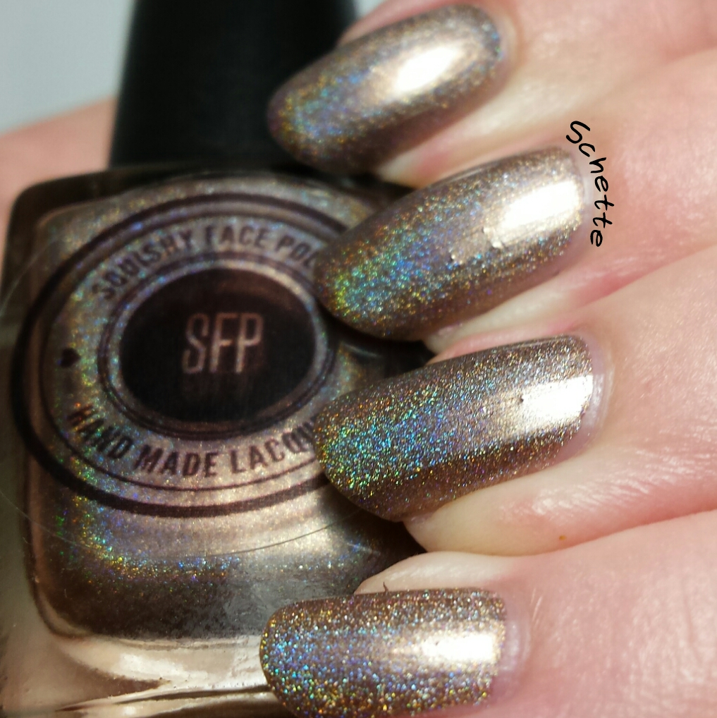 Les vernis Squishy Face Polish Radiance, Beam me up et Chocolate Wasted