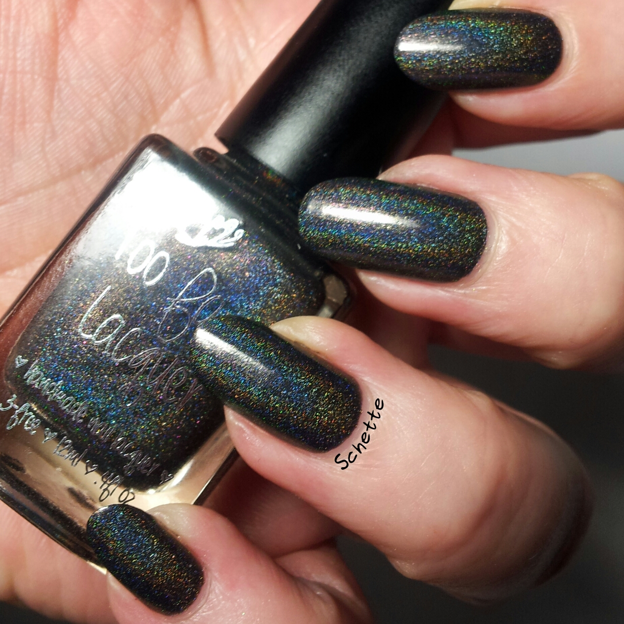 Le vernis Too Fancy Lacquer Come to the dark side