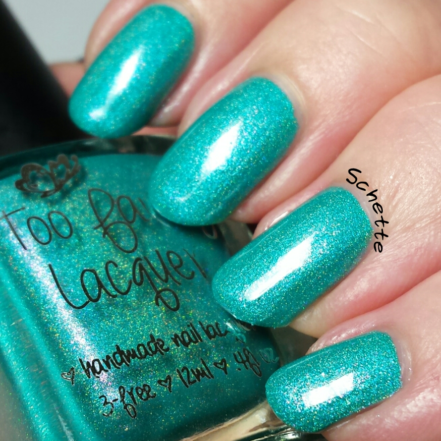 Le vernis Too Fancy Lacquer : Prototype Sea Ya!