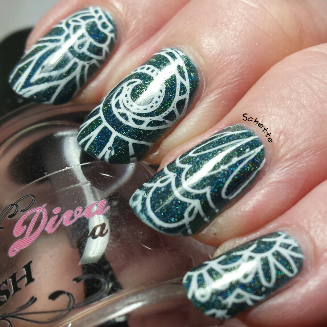 Born Pretty Store : Review of polish, stamping plate and tip guide