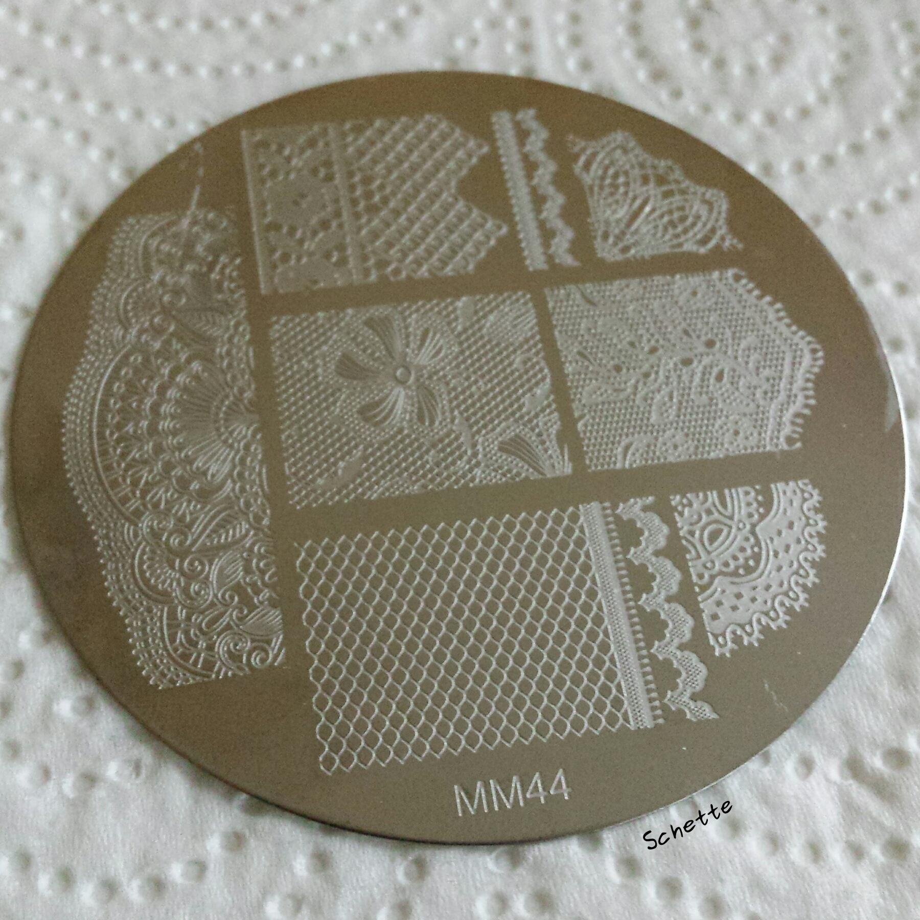 Messy Mansion : Medium Stamper and MM44 plate