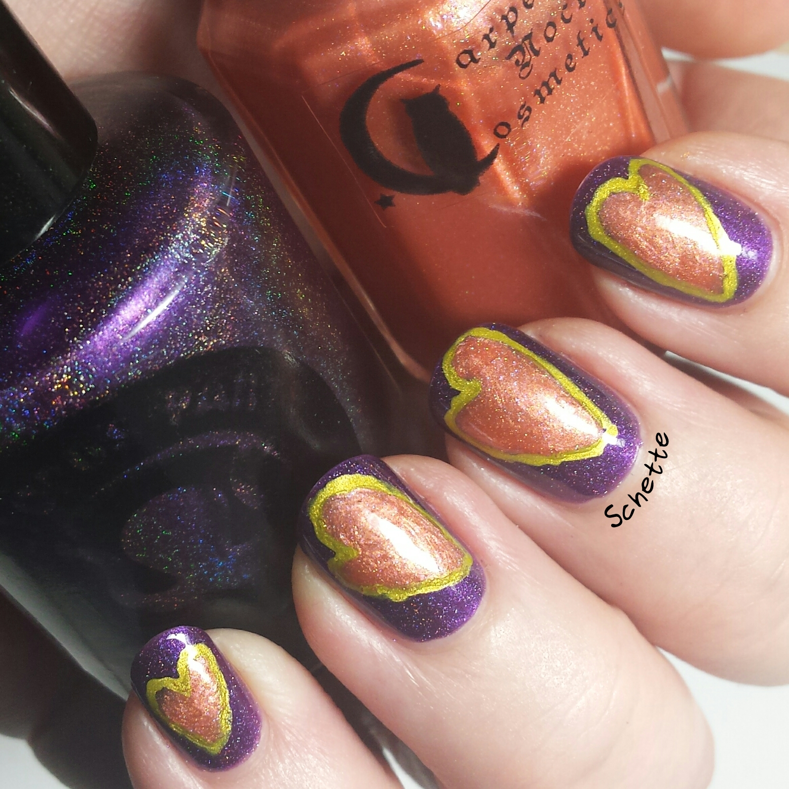 Carpe Noctem Cosmetics & Octopus Party Nail Lacquer - Adoption Duo