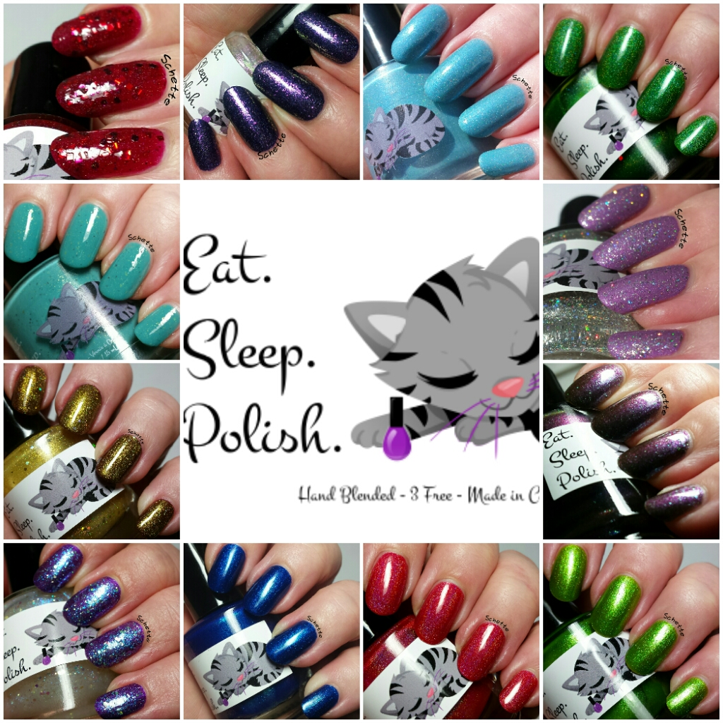 Eat Sleep Polish : The Gemstone Spellbook 2014 Collection