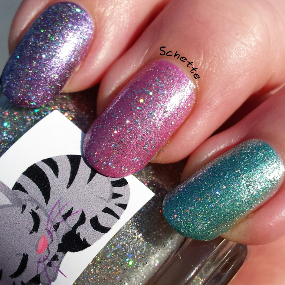 Eat Sleep Polish - Radiance, Invincible, Lilyberry Milkshake