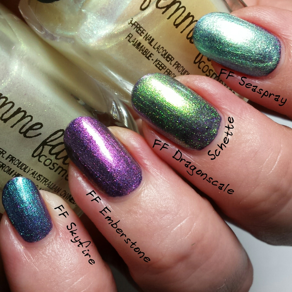Femme Fatale - Etherum, Gossamer Dust, and the gemstome collection