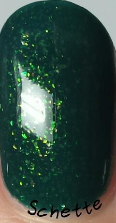 Lilypad Lacquer - Emerald Diamonds, Navy Diamonds