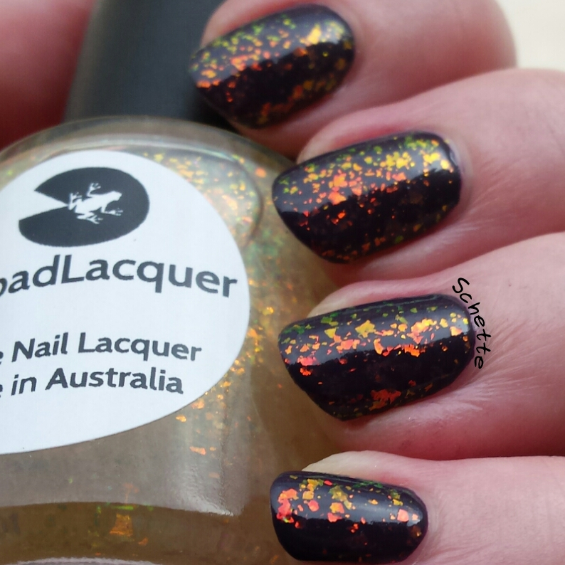 Lilypad Lacquer - Fire Storm