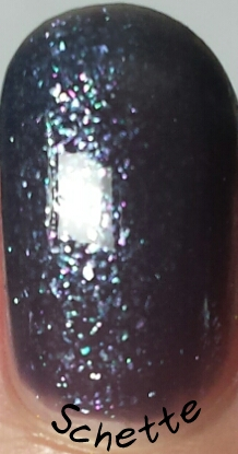Lilypad Lacquer - Gray Diamonds, Marvellous Magenta