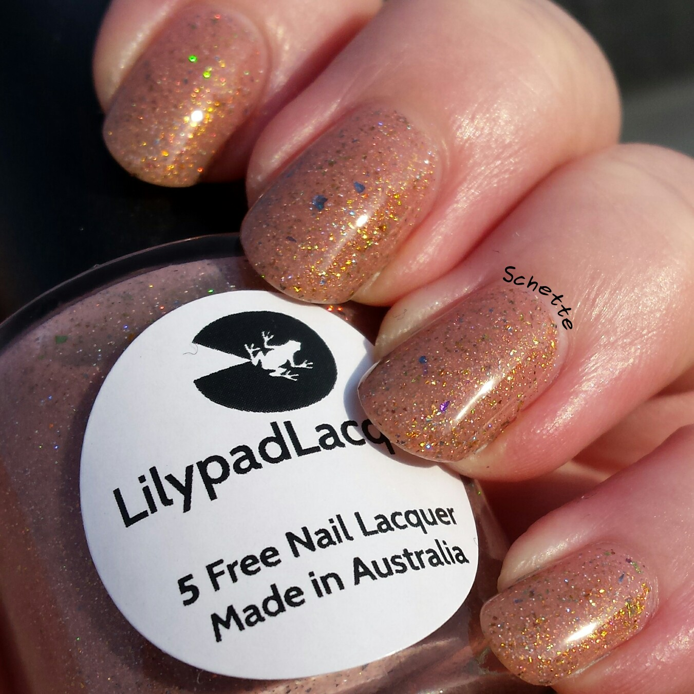 Lilypad Lacquer - In the Buff