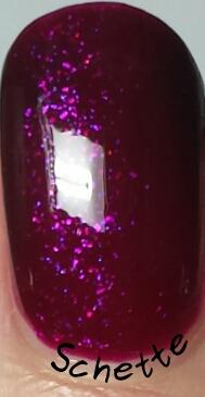 Lilypad Lacquer - Lilac Diamonds, Plum Diamonds