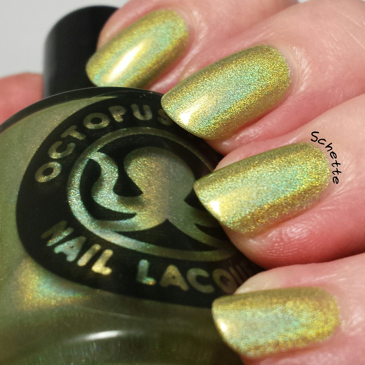 Octopus Party Nail Lacquer - Absinthe-Minded