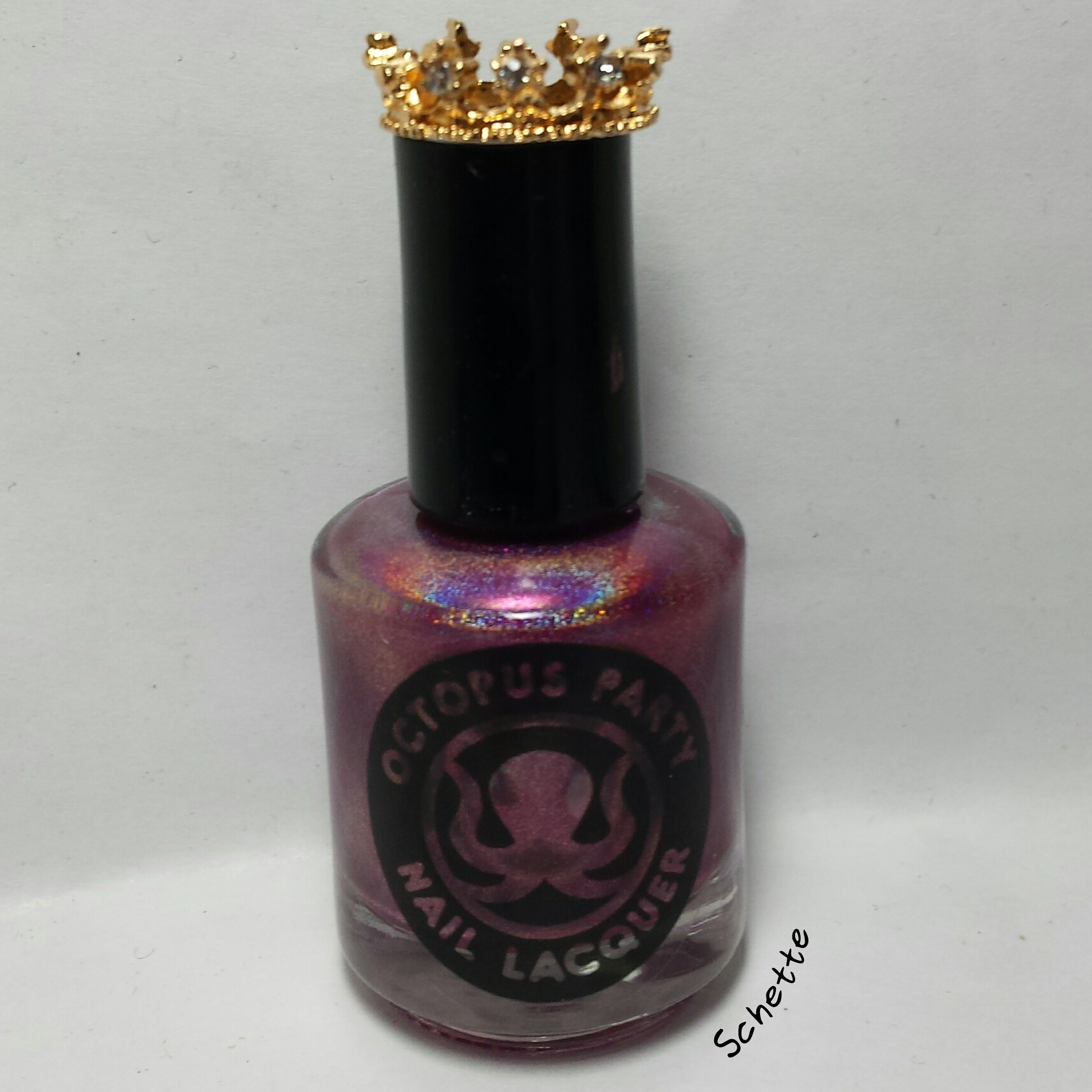 Octopus Party Nail Lacquer - My Kingdom for Glitters