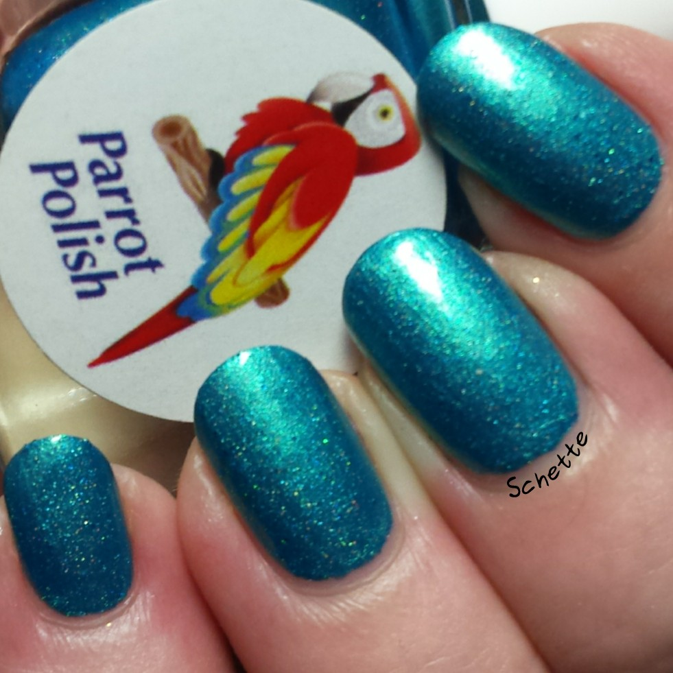 Parrot Polish : Hella Holo Group Exclusive and Custom
