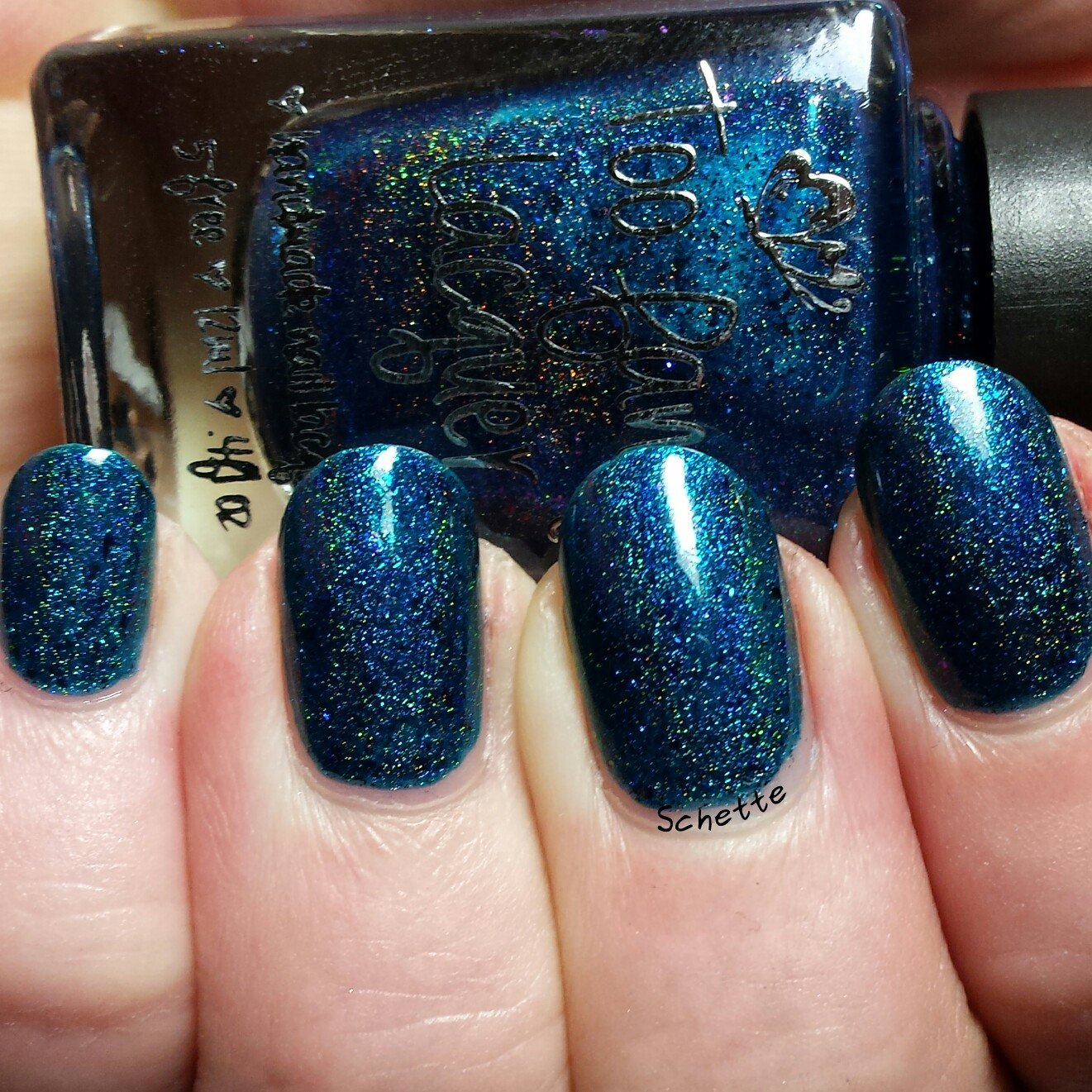 Too Fancy Lacquer - Blue Hawai