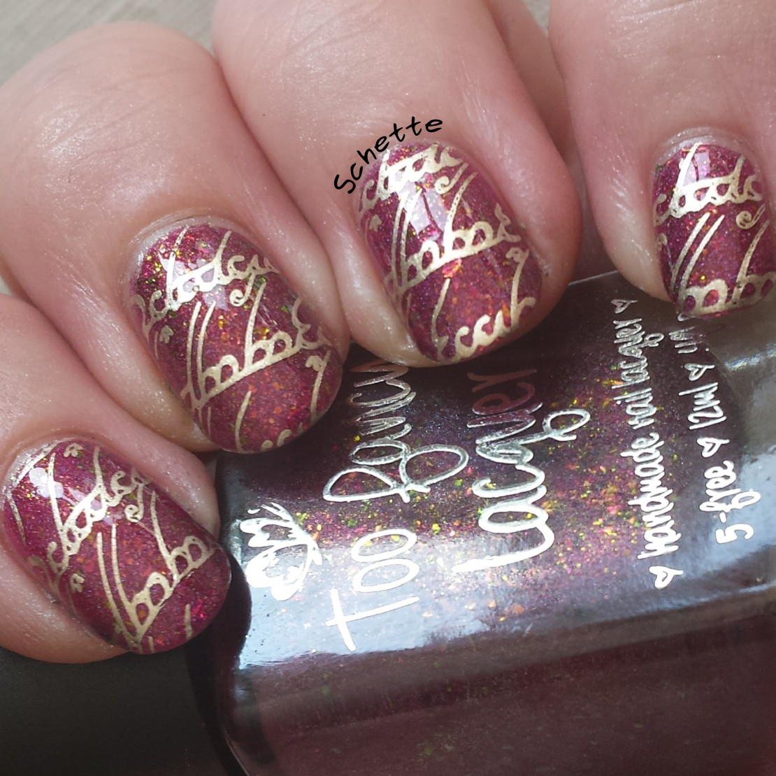 Too Fancy Lacquer - Hola Sangria