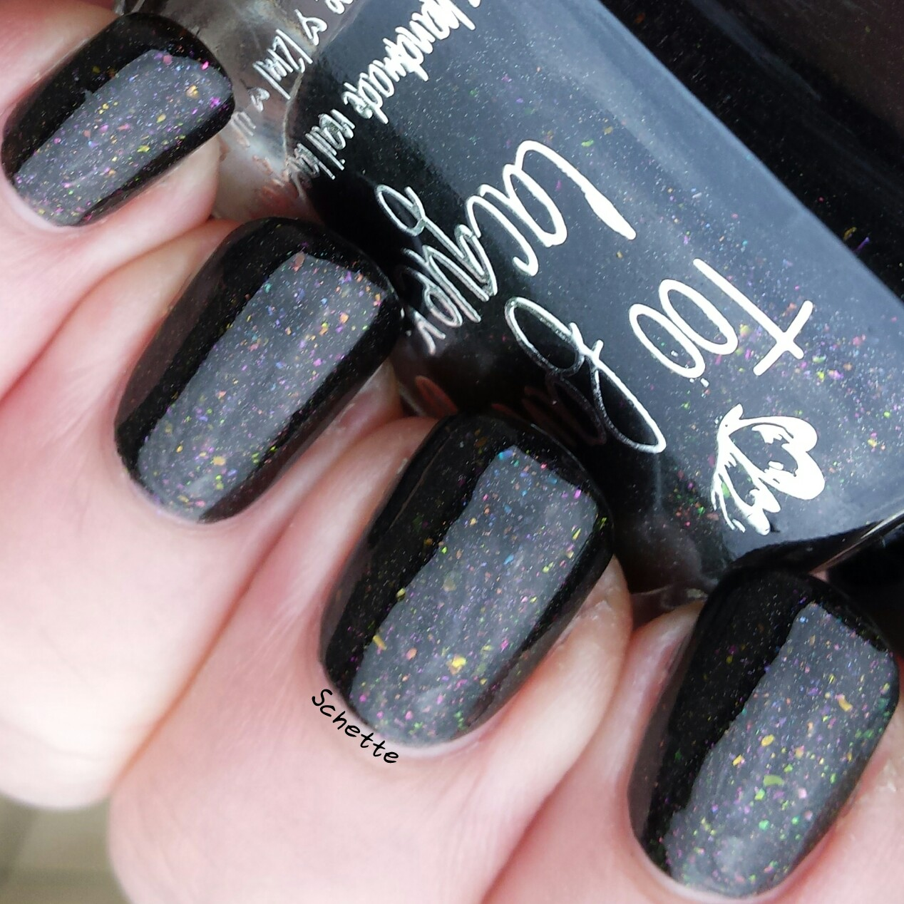 Too Fancy Lacquer - Party in the dark