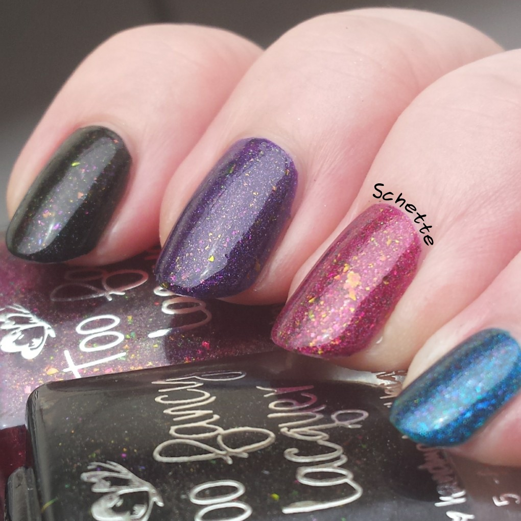 Too Fancy Lacquer - The Glowing Collection