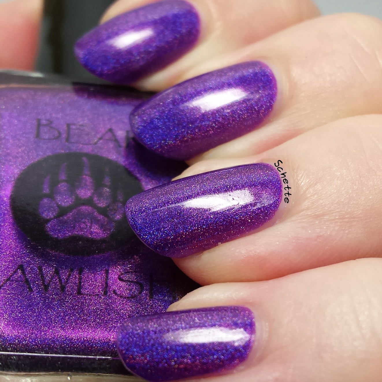 Bear Pawlish : Holo Black girl