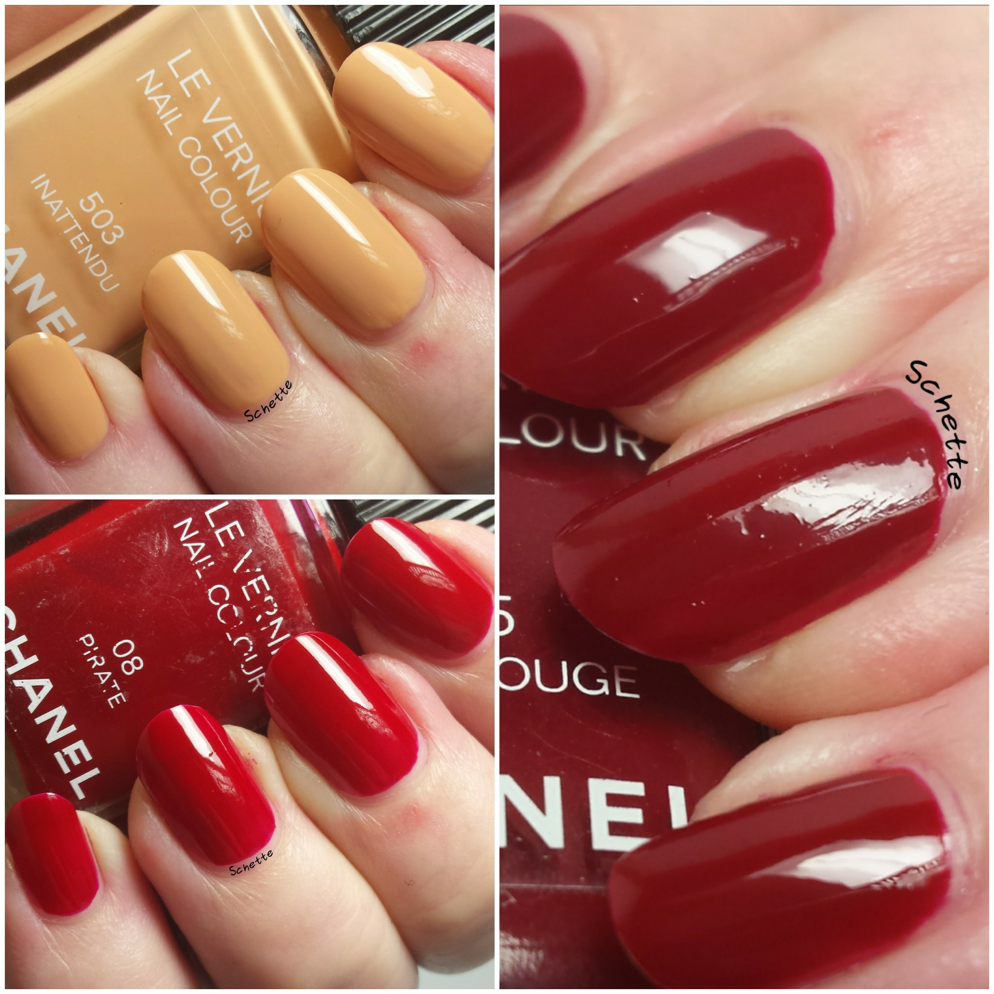 Chanel : Pirate, Inattendu, Lotus Rouge