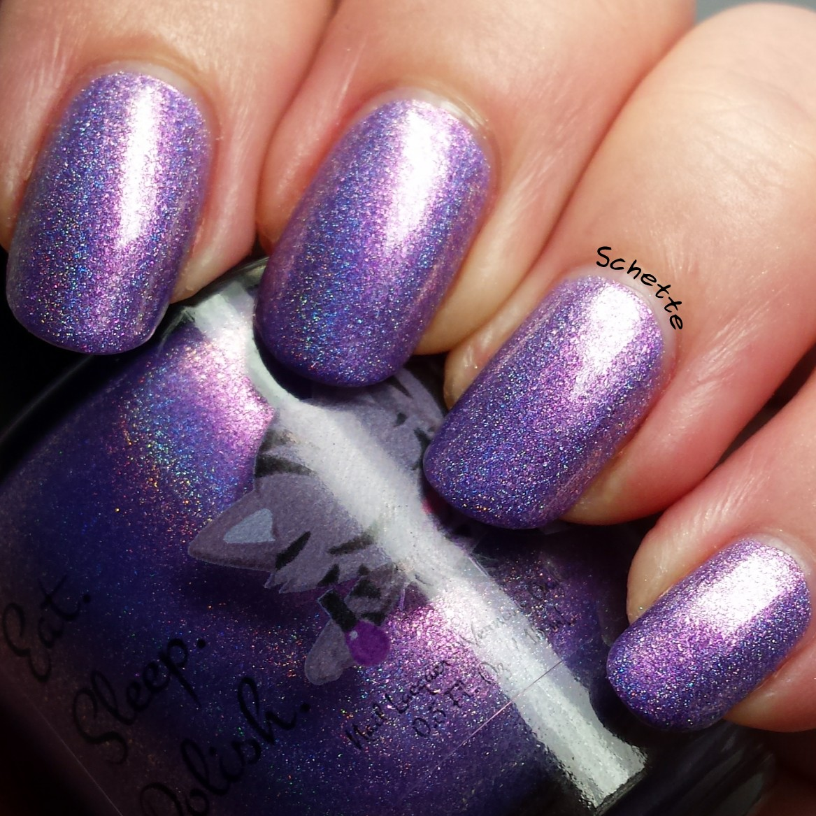 Eat Sleep Polish : Purple Rain