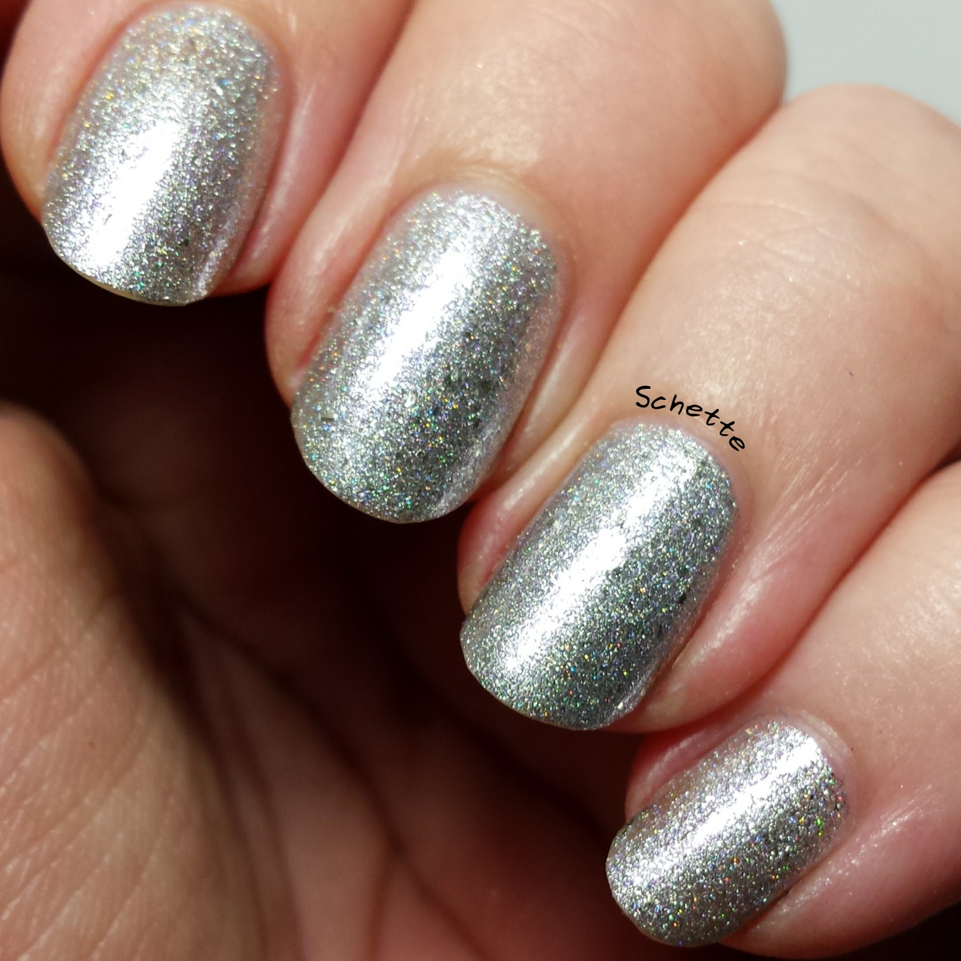 Eat Sleep Polish : Silver Shoes with pointed toes