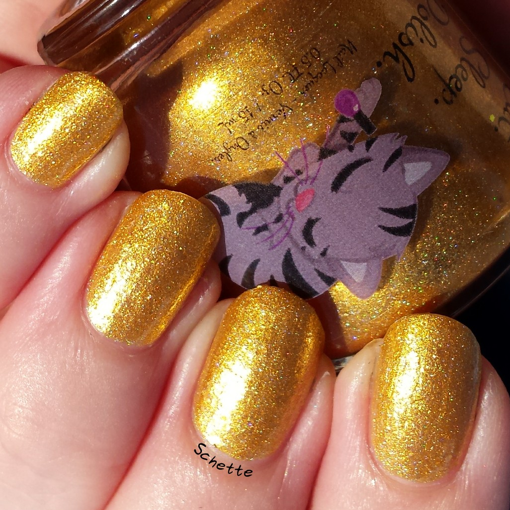 Eat Sleep Polish : The golden Cap