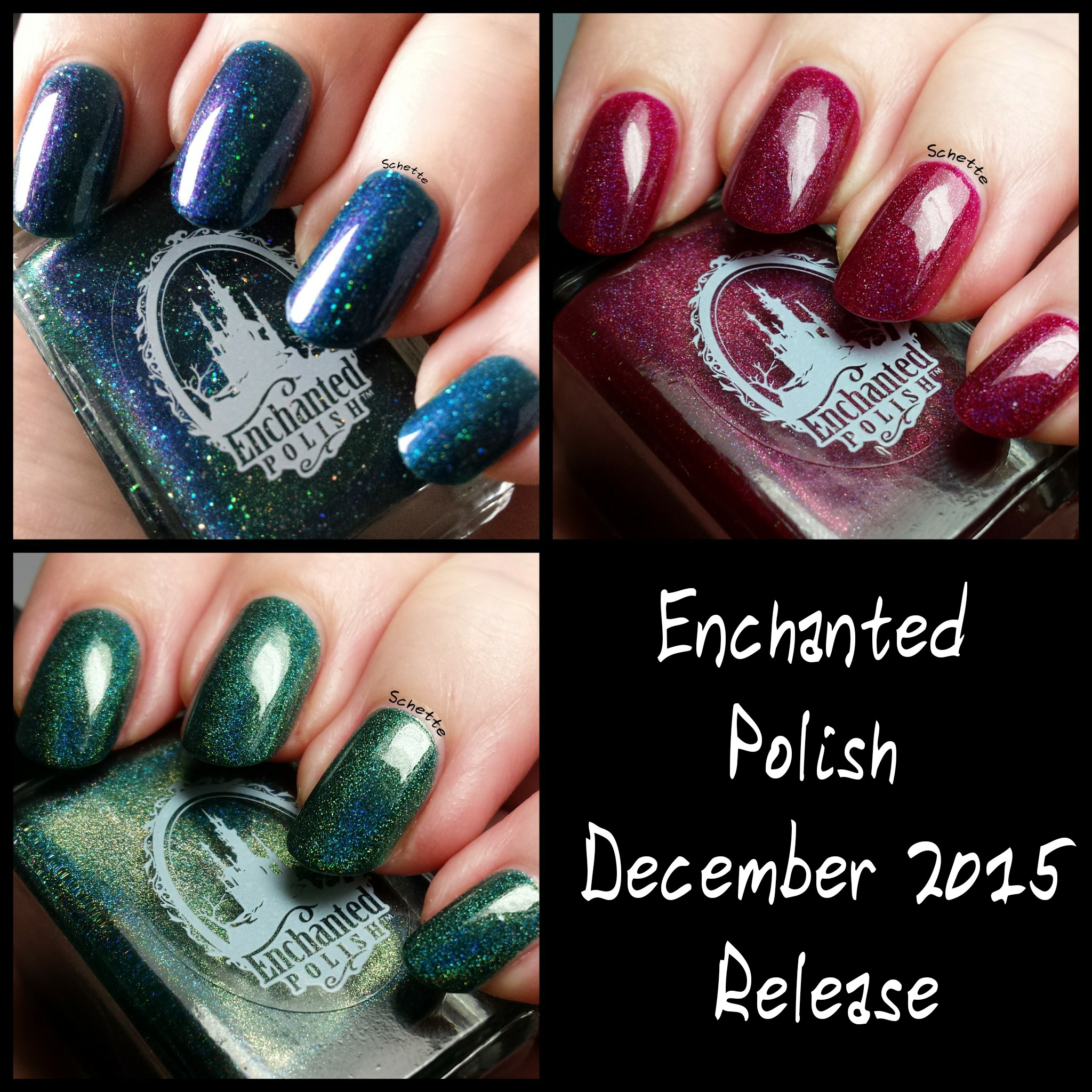 Enchanted Polish : Neptune, December 2015, Holiday 2015
