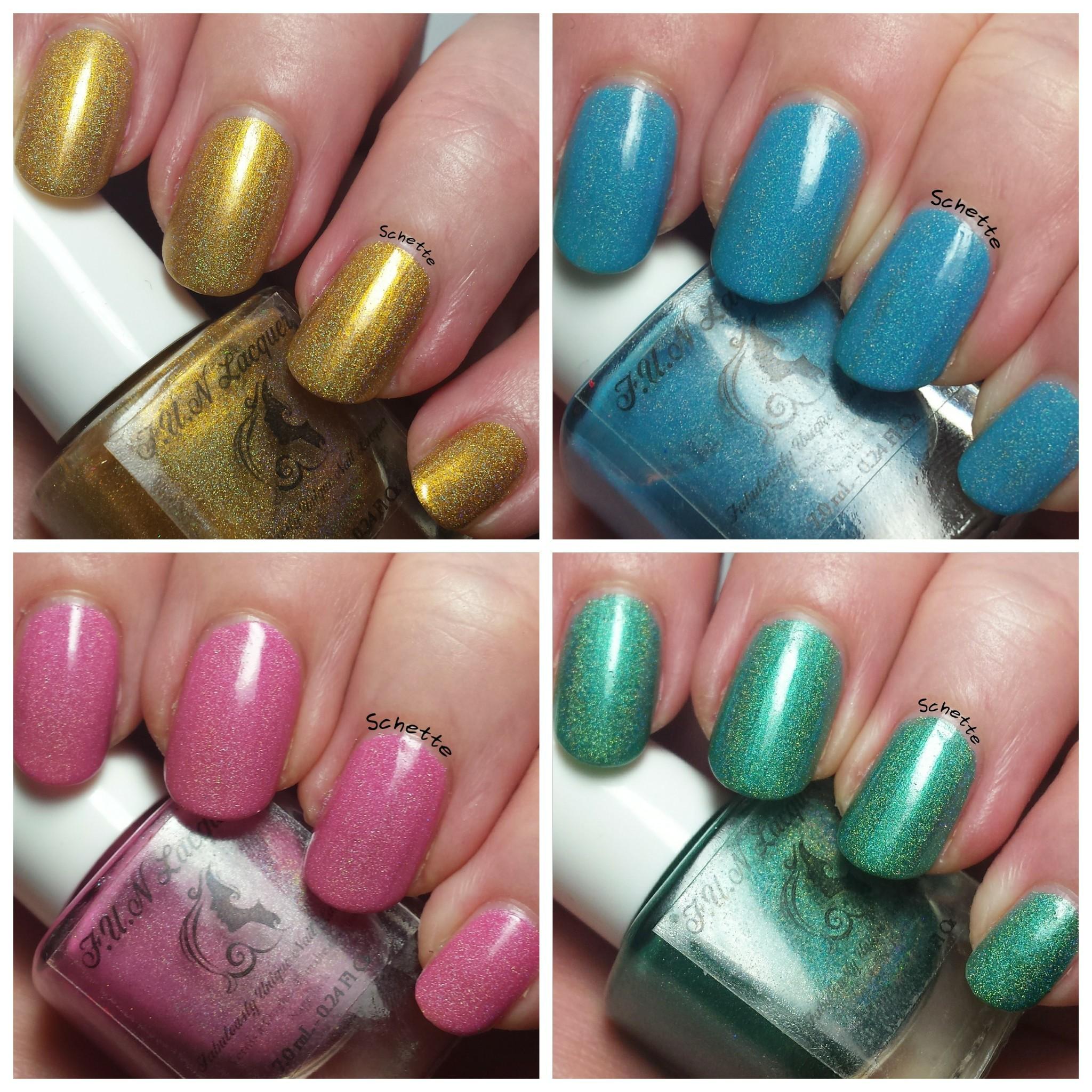 Fun Lacquer : Ariel, Aurora, Belle, Cinderella