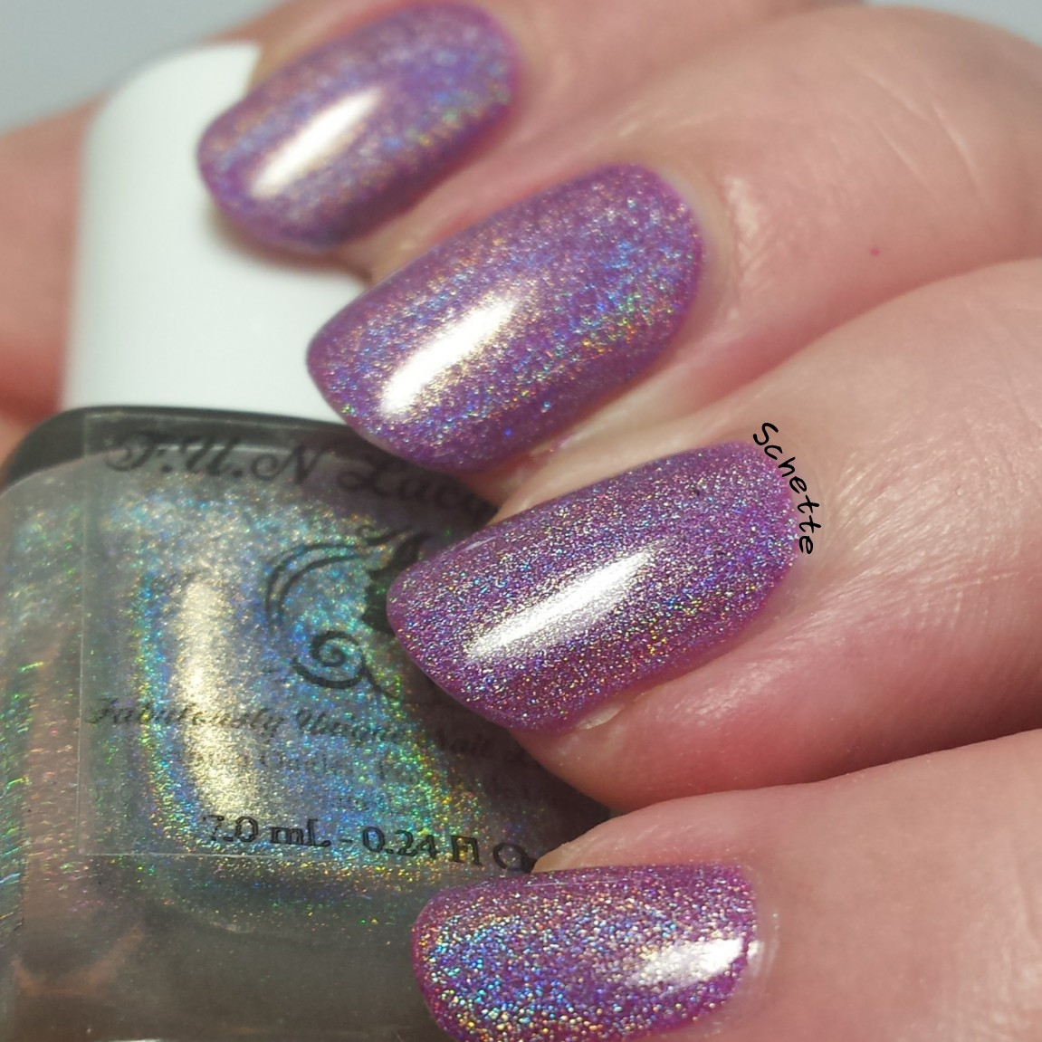 Fun Lacquer : Raspunzel, Snow white, Tiana, Diamond top coat