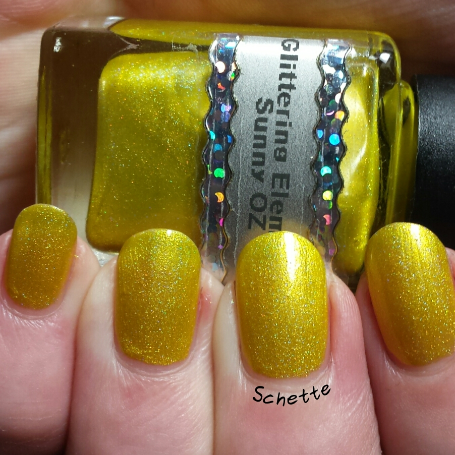 Glittering Elements : Ocean Fling, Mermaid Spell, Mystic Midas, Sunny Oz