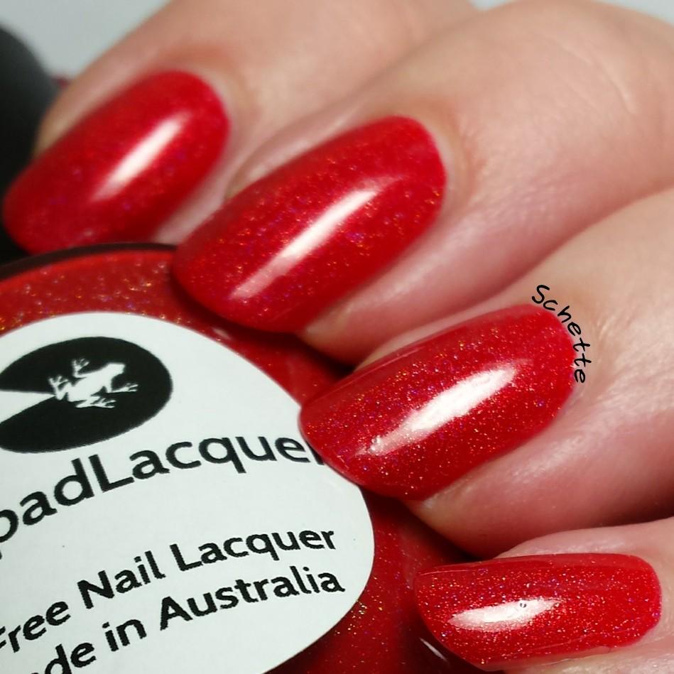 Lilypad Lacquer : Fire Fire